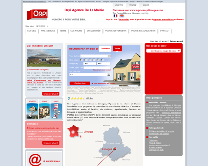 Agence Orpi Limoges : Achat appartement...
