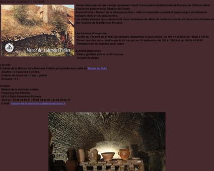 Grès de Puisaye : Maison de la Mémoire Potière