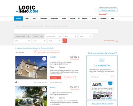Maison à vendre Saint Aignan de Cramesnil...