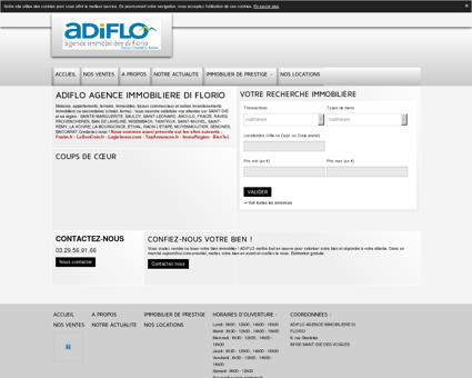 Annonces immobilier (Vente, Location) ADIFLO...