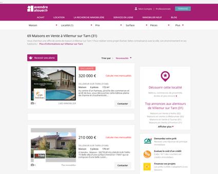 Vente Maison Villemur sur Tarn (31) | Acheter...