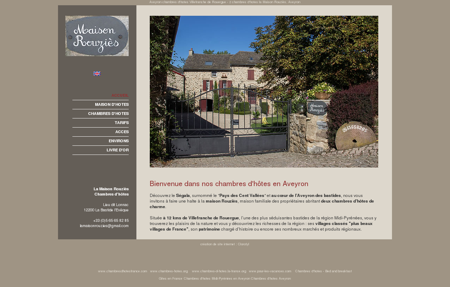 Chambre d'hotes Aveyron - Maison Rouzies,...
