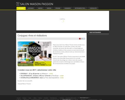 Salons Maison Passion - Lyon, Dijon, Annecy,...