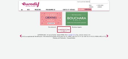 Eurodif : Mode, Maison, Femme, Fille, Fillette,...