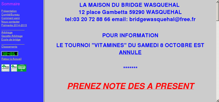 Maison du bridge de Wasquehal