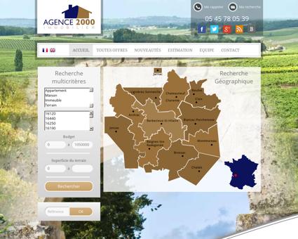 Agence immobilière Barbezieux - Vente de...
