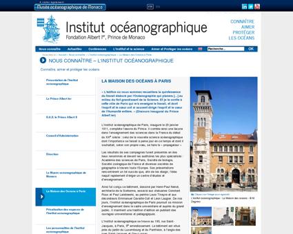 La Maison des Océans à Paris - Institut...