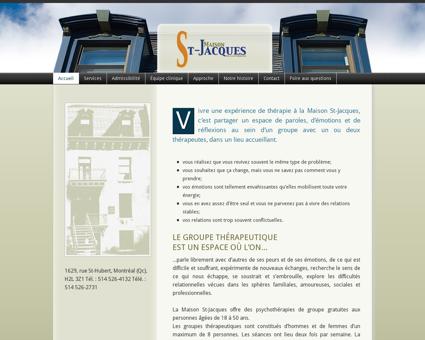 Maison St-Jacques  Psychothérapie de...