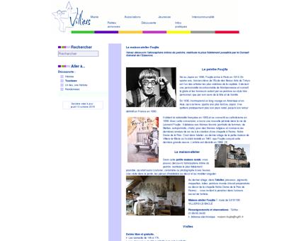 La maison-atelier Foujita - Ville de Villiers-le...