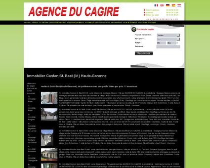 Immobilier Canton de St. Beat (31) Haute...