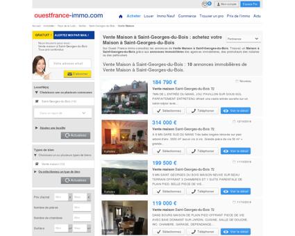 Maison a vendre a Saint-Georges-du-Bois...