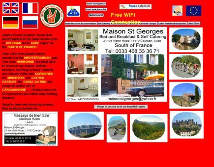 Maison St Georges - Biker B&B Accommodation South of ...