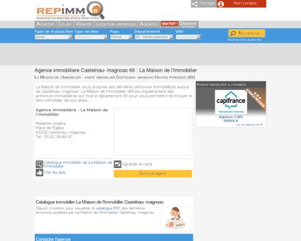 Agence immobiliere Castelnau- magnoac 65 :...