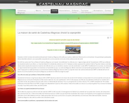 La maison de santé de Castelnau-Magnoac choisit la ...