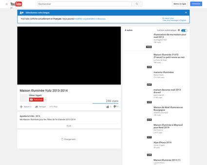 Maison Illuminée Yutz 2013-2014 - YouTube