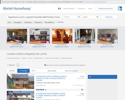Bagnères de Luchon : location maison de...