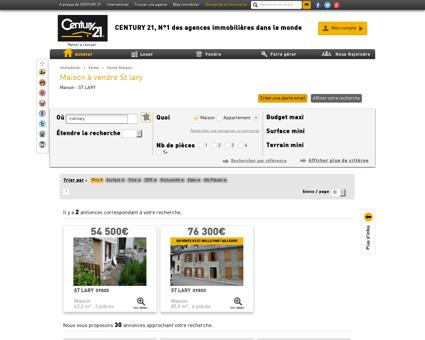 Vente Maison à ST LARY - Agence immobilière...