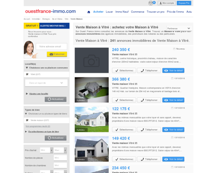 Maison a vendre a Vitré (35500) :...