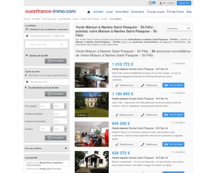 Maison a vendre a Nantes Saint-Pasquier - St...