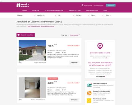 Location Maison Villeneuve sur Lot (47) |...