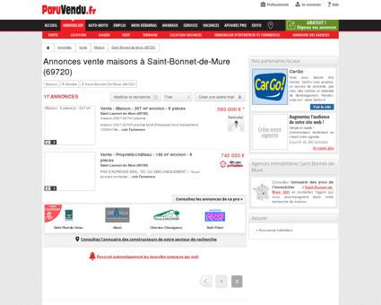 Vente maison à Saint-Bonnet-de-Mure...