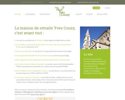 Accueil - Yves Couzy Maison de retraite...