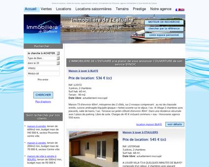 Agence immobilière à SAINT ANDRE DE...