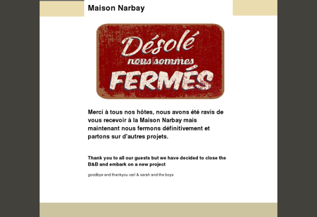 Maison Narbay ,chambres d'hotes