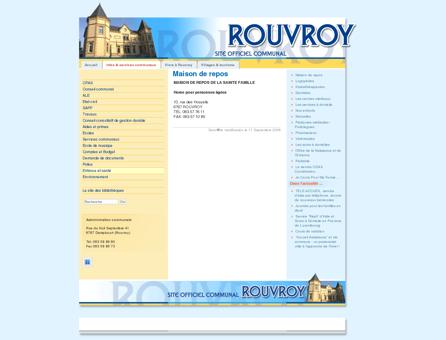 Maison de repos - Commune de Rouvroy