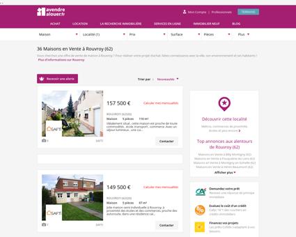 Vente Maison Rouvroy (62) | Acheter Maison...