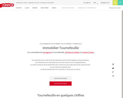 Immobilier Tournefeuille - Biens immobiliers...