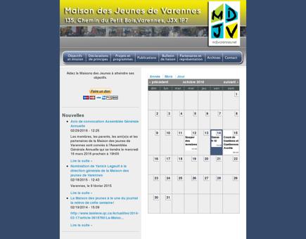 Calendar | Maison des jeunes de Varennes