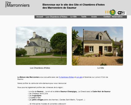 Maison des Marronniers : Chambres d'hôtes à...