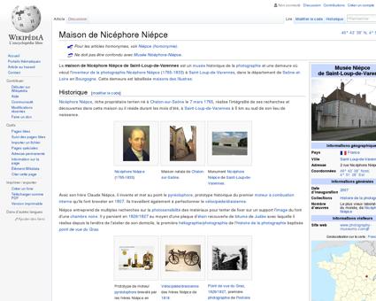 Maison de Nicéphore Niépce  Wikipédia