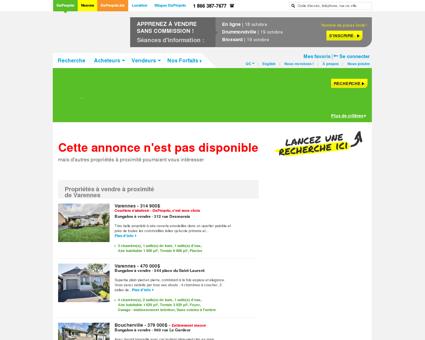 Maison à vendre Varennes, 62 boulevard de la...