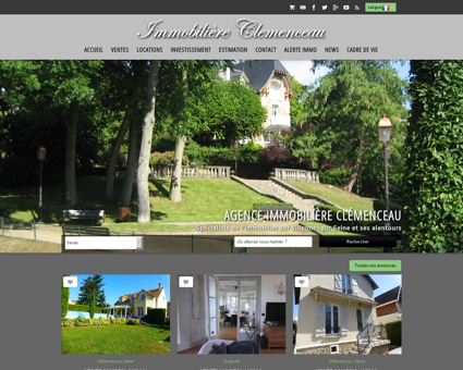 Agence IMMOBILIERE CLEMENCEAU agence...