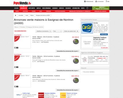 Annonce : Vente Maison Savignac-de-Nontron...