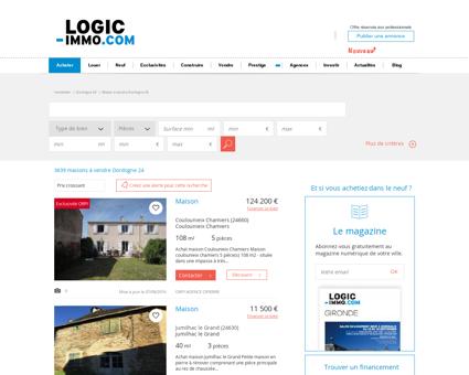 Maison à vendre Dordogne 24, vente Maison...