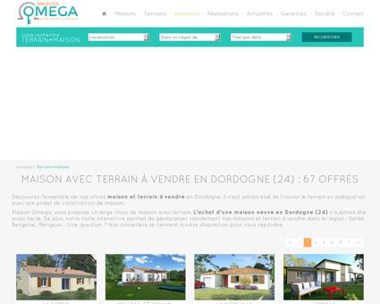 OMEGA - Annonces Terrain + Maison en...