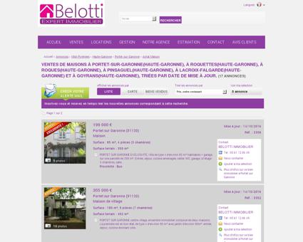 19 annonces de ventes de maisons situées à...