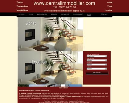 www.centralimmobilier.com - Agence situé à...
