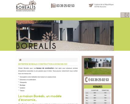 Constructeur de maison en bois Boréalis à...