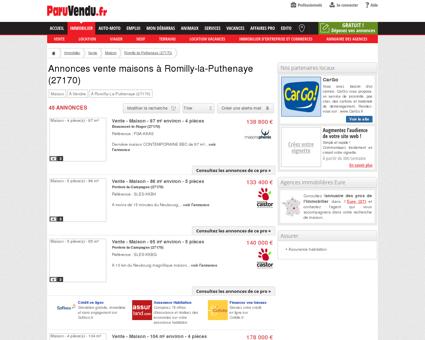 Vente maison à Romilly-la-Puthenaye (27170) :...