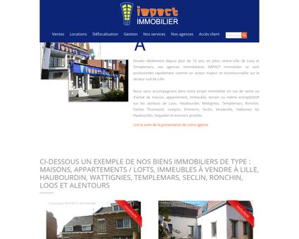impact immobilier, achat, vente, gestion de...