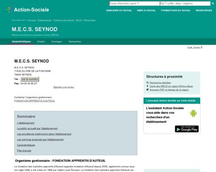 SEYNOD : M.E.C.S. SEYNOD - Maison...