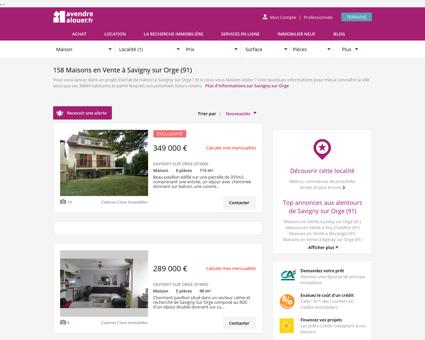 Vente Maison Savigny sur Orge (91) | Acheter...