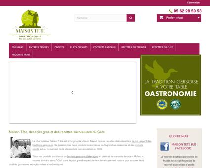 Maison Tête - Foie Gras Gers IGP - recettes de...