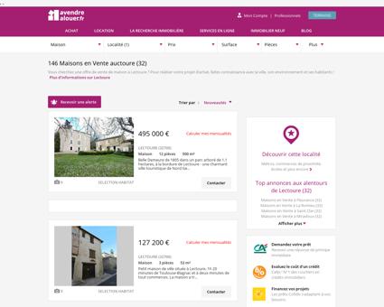 Vente Maison Lectoure (32)   Acheter Maison...