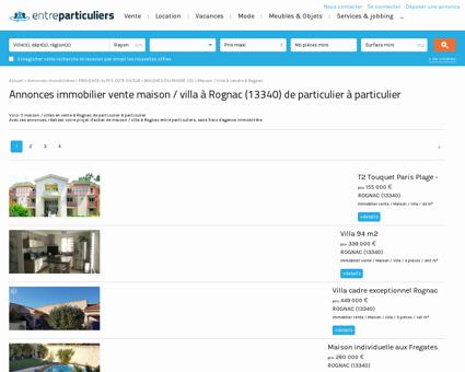 Maison / villa à vendre à Rognac (13340) :...
