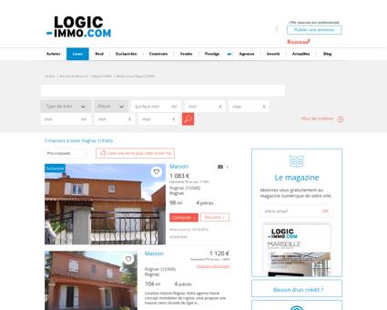 Maison à louer Rognac 13340